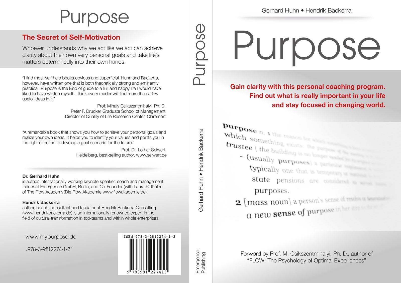 Purpose: Huhn | Backerra | ISBN 9783981227413 | Cover