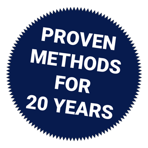 Proven Methods for 20 Years